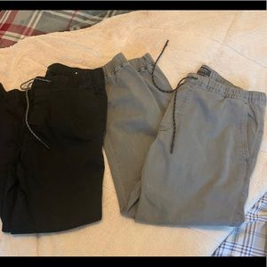 American eagle men's joggers large